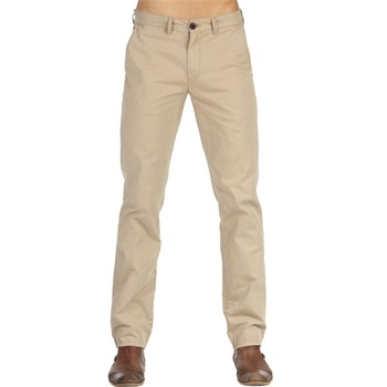 Hilfiger Denim Brown Khaki Sasha Chino Trousers
