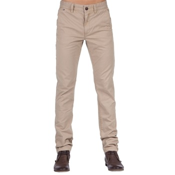 Hilfiger Denim Light Brown Fallon Chino Trousers