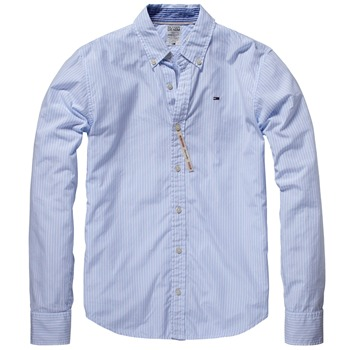 Hilfiger Denim Light Blue Thomas Stripe Shirt