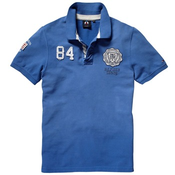 Hilfiger Denim Blue Champions Polo Shirt