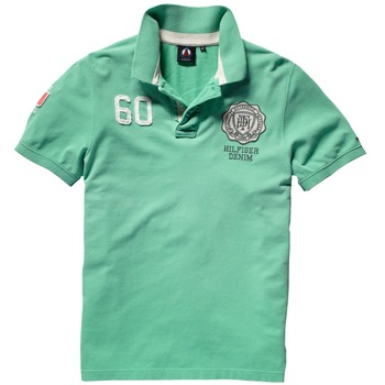 Hilfiger Denim Green Champions Polo Shirt