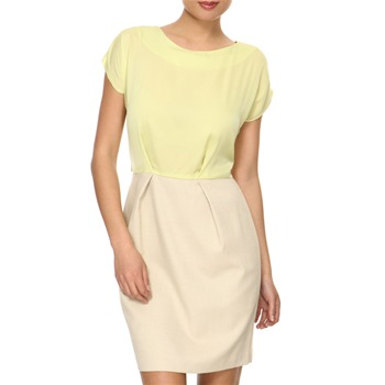 Closet Lime/Beige Colour Block Derss