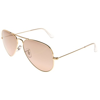 Ray Ban Lunettes de soleil Aviator or