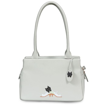Ciccia Cream/Multi Kitten Heels Shoulder Bag