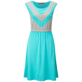 Fever Sport Mint/Grey Alexia Stripe Dress