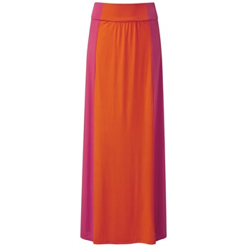 Fever Sport Pink/Orange Brancusi Maxi Skirt