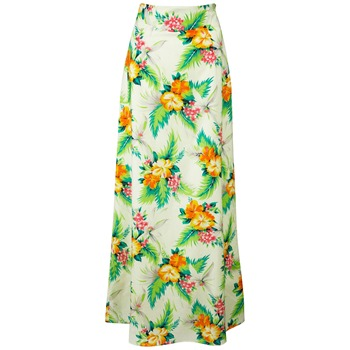 Fever Cream/Multi Delphine Tropical Maxi Skirt