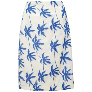 Fever White/Blue La Jolla Wrap Skirt