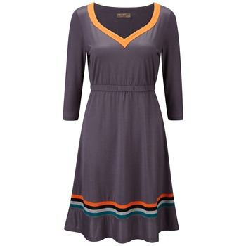 Fever Sport Grey/Orange Monaco Jersey Dress