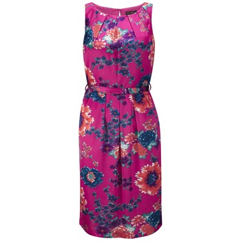 Fever Fuchsia Menorca Detroit Floral Dress