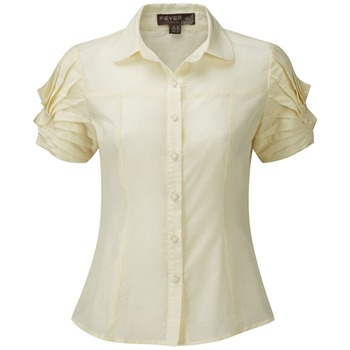 Fever Cream Peony Structured Blouse