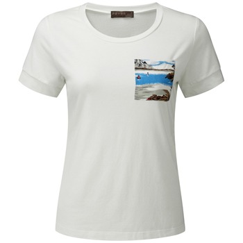 Fever White Waikiki Pocket T-Shirt