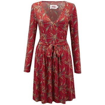 Ruby Belle Red Renoir Wrap Dress