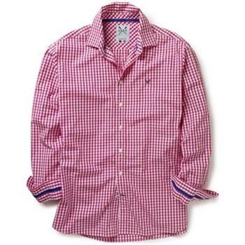 Crew Clothing Red/White Classic Gingham Shirt