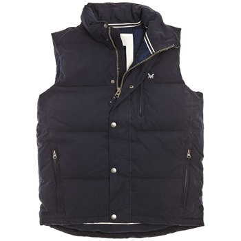 Crew Clothing Navy Etwall Gilet