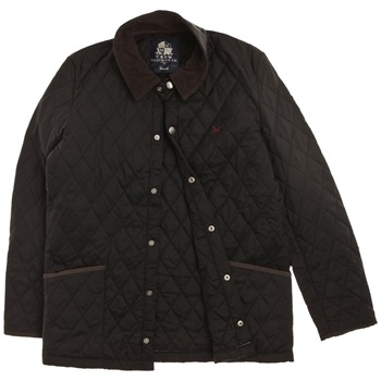 Crew Clothing Black Duffield Quilted Jacket