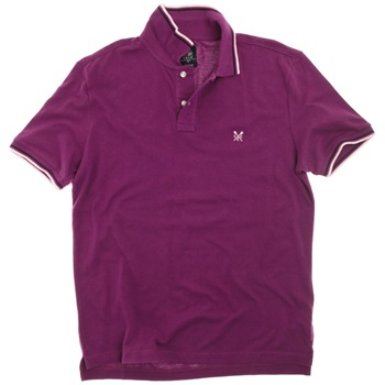 Crew Clothing Purple/White Rolo Polo Shirt