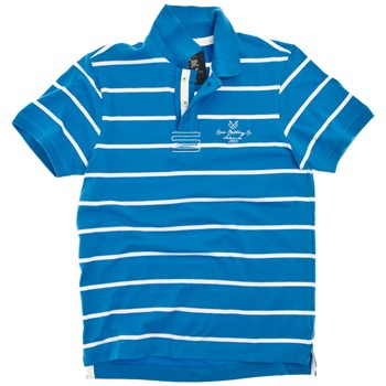 Crew Clothing Blue/White Regatta Polo Shirt