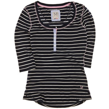 Crew Clothing Navy/White Giselle Stripe Top