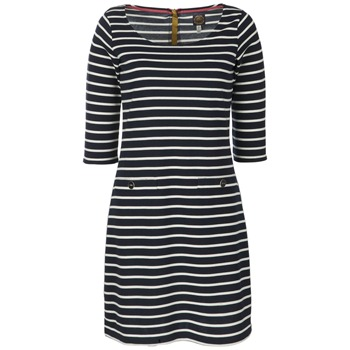 Joules Navy Remy Stripe Jersey Dress