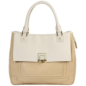 Aubrey England Honey/Beige Wilton Leather Tote Bag