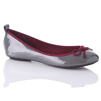 Carvela by Kurt Geiger Grey/Burgundy Ben Pumps