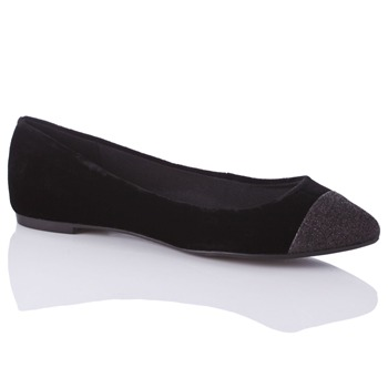 Carvela by Kurt Geiger Black Lila Velvet Pumps