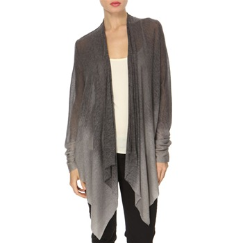Avoca Anthology Grey Waterfall Dip-Dye Cardigan