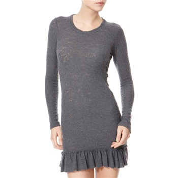Avoca Anthology Grey Textured Wool Blend Tunic