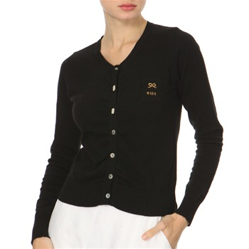 Avoca Anthology Black Pearl Buttoned Cardigan