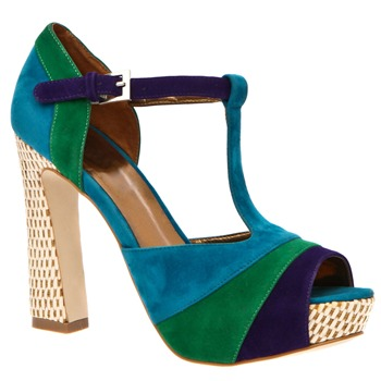 Timeless Blue Kirsty Shoes 12cm Heel