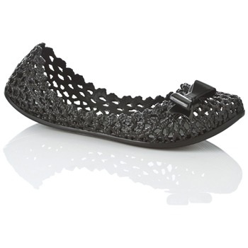 Mel Black Jube Jelly Shoes