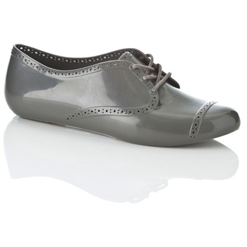 Mel Grey Lemon Jelly Shoes