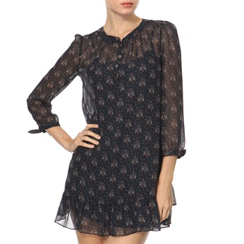 Juicy Couture Navy Lovebirds Print Tunic Dress