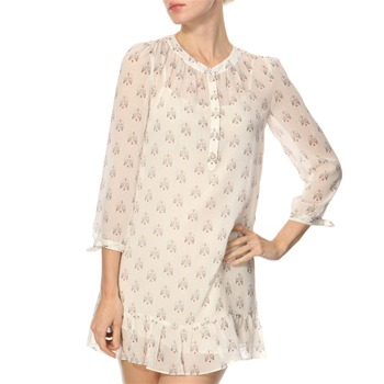 Juicy Couture Cream Lovebirds Print Tunic Dress