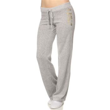 Juicy Couture Grey Velour Original Tracksuit Pants 34