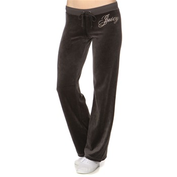 Juicy Couture Slate Logo Velour Classic Tracksuit Pants 32