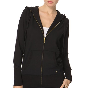 Juicy Couture Black Slouch Hooded Jacket
