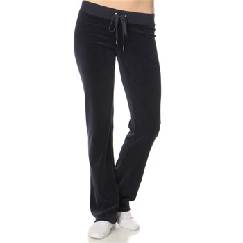 Juicy Couture Navy Classic Velour Tracksuit Pants 32