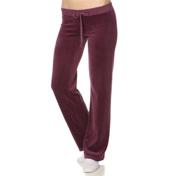 Juicy Couture Damson Velour Classic Tracksuit Pants 32