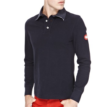 Murphy & Nye Navy Pollok Cotton Polo Shirt
