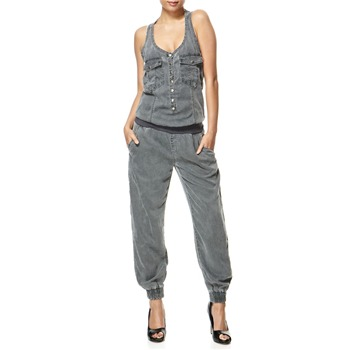 Miss Sixty Grey Stardust Jumpsuit 26