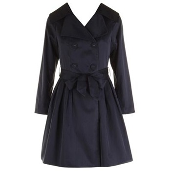 Darling Navy Heidi Classic Trench Coat