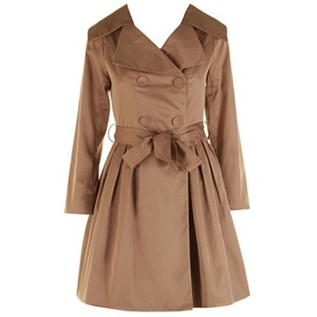 Darling Olive Heidi Classic Trench Coat