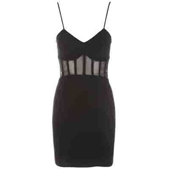 Core Spirit Black Bodycon Cut Out Dress