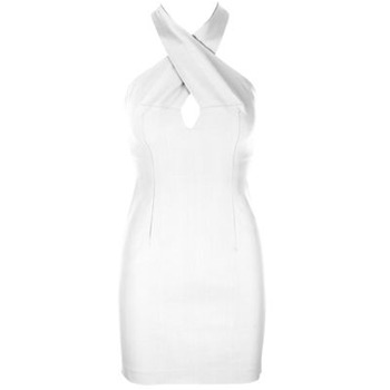 Core Spirit White Halterneck Bodycon Dress