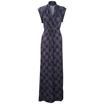 French Connection Navy Cascade Jersey Maxi Dress