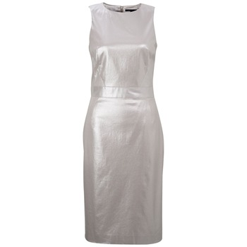 French Connection Silver Sparkle Babs Dress