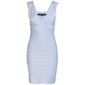 French Connection Light Blue Spotlight Bandage Dress