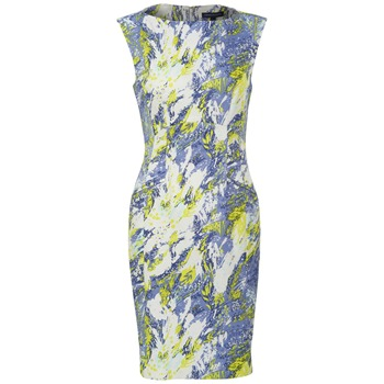French Connection Blue/Yellow Colette Floral Dress